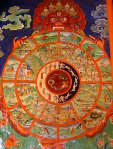 Eluratas Sera kloostris Tiibetis (allikas: Philipp Roelli / Wikimedia)